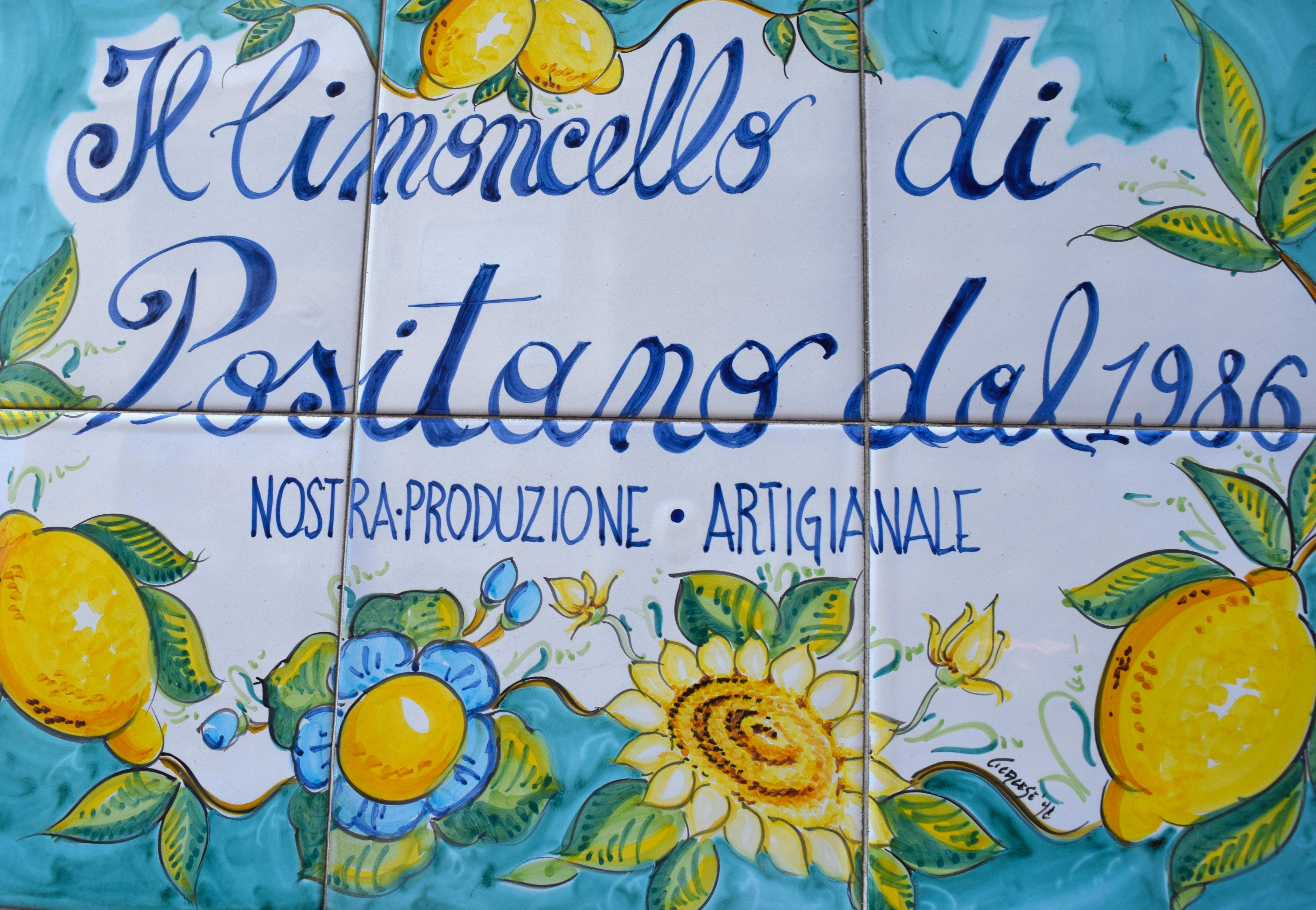 ... shops on the Amalfi Coast are a riot of colour synthesising the glorious blues turquoises and yellows of the sea and sun outside into vases plates ...  sc 1 st  La Brutta Figura & The Signature Ceramic Tiles of the Amalfi Coast - La Brutta Figura